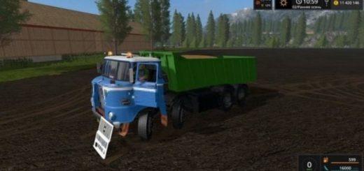Мод грузовик IFA W50 4X4 V0.9 FS17