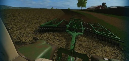 Мод ПАК культиваторов JOHN DEERE 2623 DISC V1.0 Farming Simulator 17
