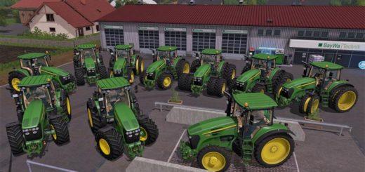 Мод ПАК трактора JOHN DEERE 7030 PACK V1.0 Farming Simulator 17