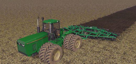 Мод трактор JOHN DEERE 8970 V1.0 FS17
