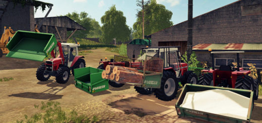 Мод JOSKIN 3-POINTS TIPPER V1.0 FS17