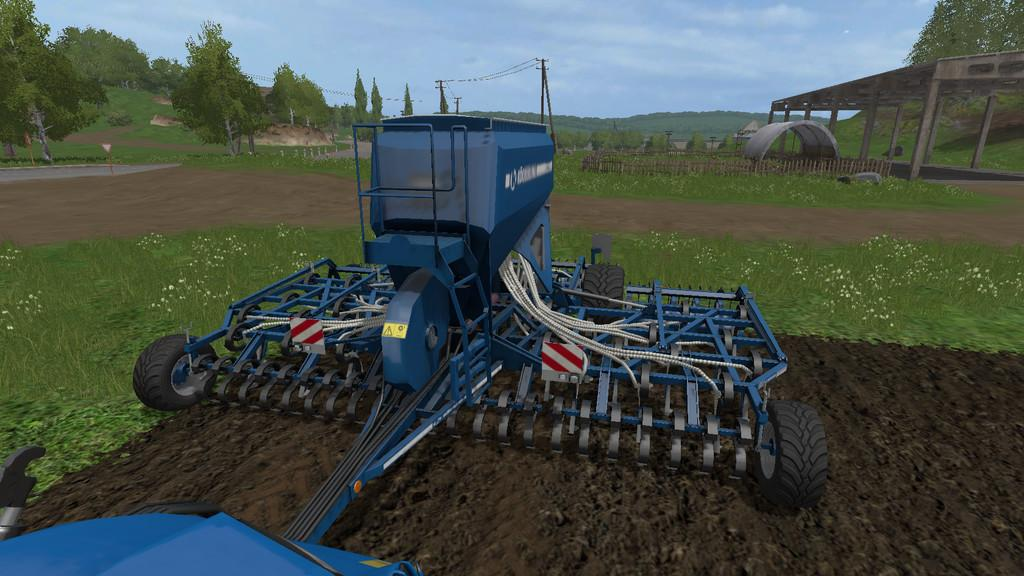Мод сеялка KOECKERLING JOCKEY 600 V1.1.0.0 FS17
