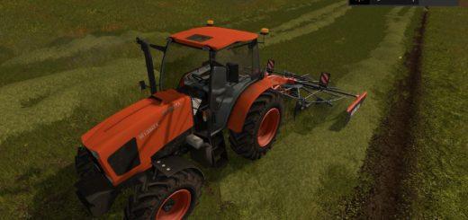 Мод трактор KUBOTA M135GX V1.0 Farming Simulator 2017