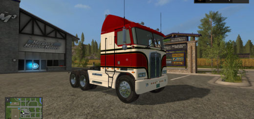 Мод ПАК тягачи KENWORTH K100 1978 PACK V1.1 Farming Simulator 17