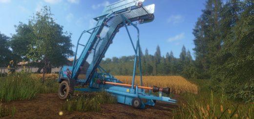 Мод погрузчик Krukowiak Z437 v1.0 Farming Simulator 17