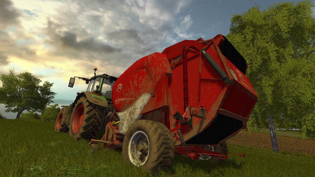Мод тюкопресс LELY WELGER RP445 V1.0.0.0 Farming Simulator 17