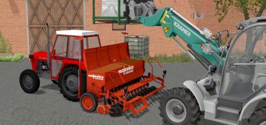 Мод сеялка MAJEVICA v 1.2 Farming Simulator 2017