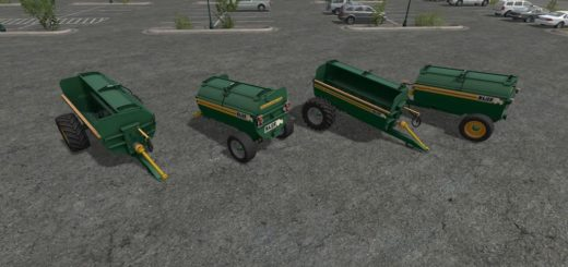 Мод прицеп MAJOR MUCKOUT 750 V1.0.0.0 Farming Simulator 2017