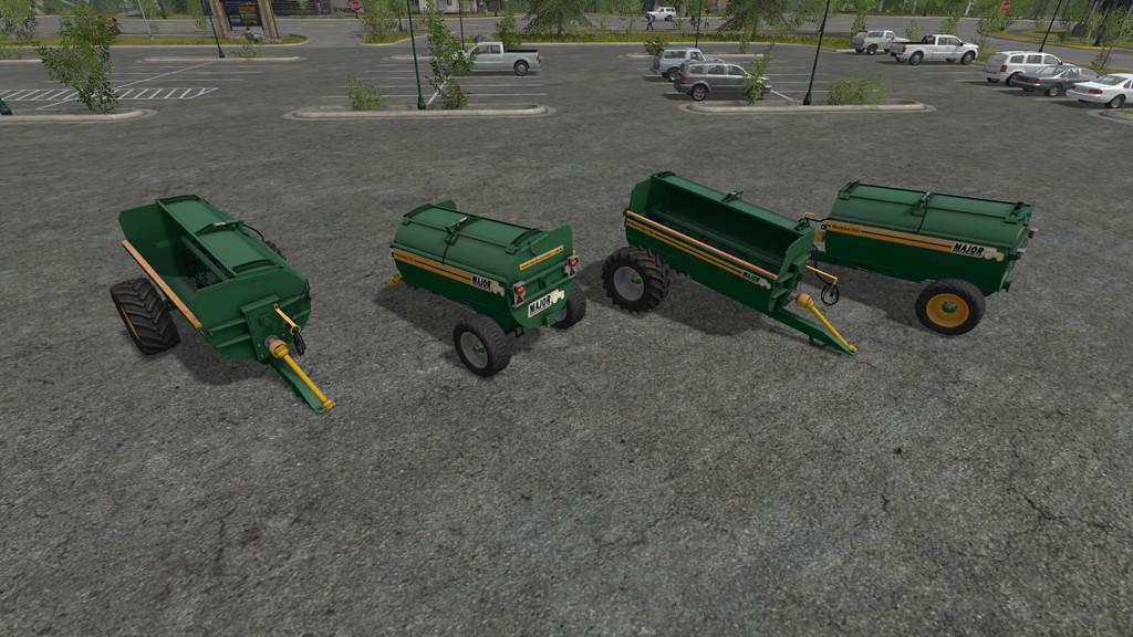 Мод прицеп MAJOR MUCKOUT 750 V1.0.0.0 Farming Simulator 2017