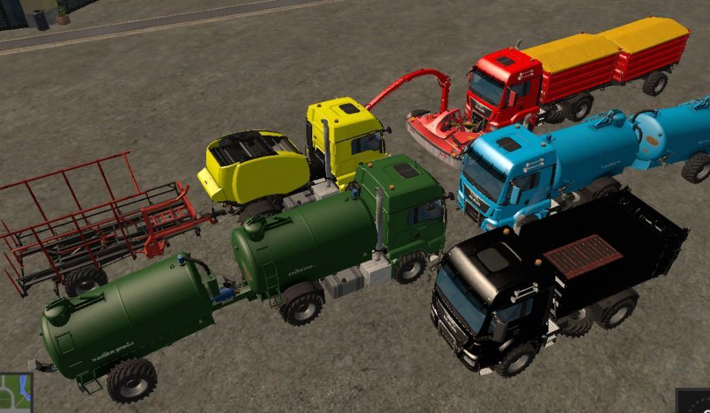 Мод ПАК грузовики MAN TGS 18.440 PACK FS17