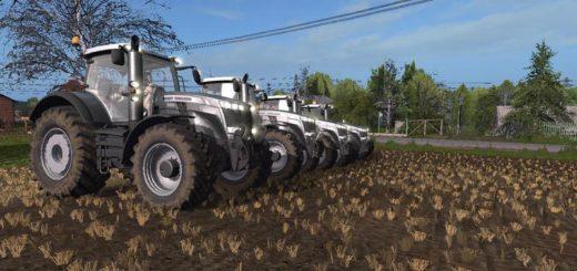 Мод трактор MASSEY FERGUSON 8700 BLACK EDITION V1.0 Farming Simulator 2017