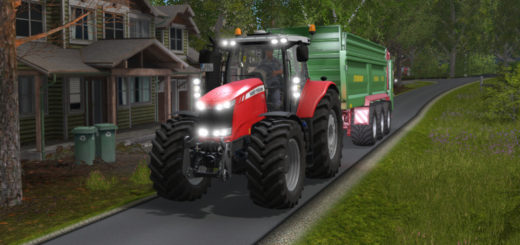 Мод трактор Massey Ferguson 7700 More Realistic v 1.1 FS17