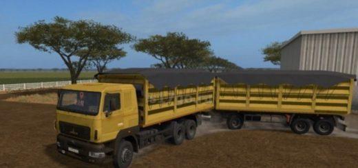 Мод грузовик МАЗ КОЛОС V1.0 Фермер Симулятор 2017