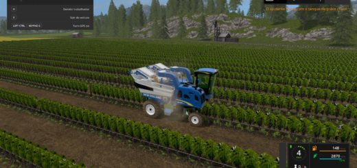 Мод комбайн New Holland 9060L v1.0 Farming Simulator 17