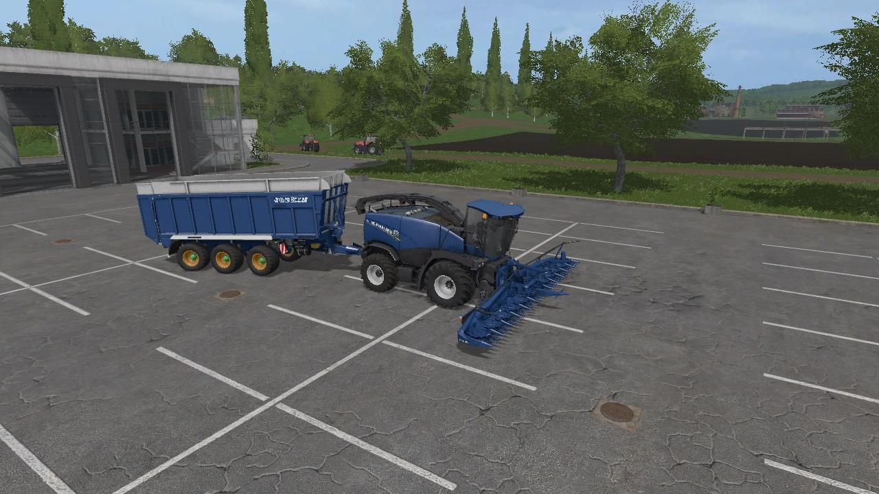 Мод ПАК NEW HOLLAND FORAGE V6.0  Farming Simulator 17