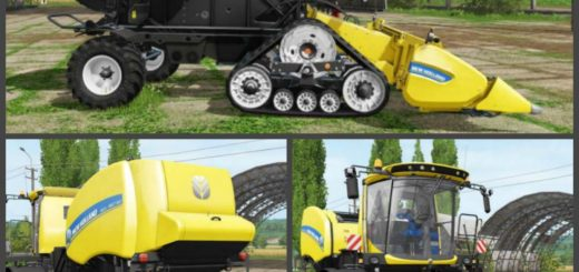 Мод ПАК NEW HOLLAND ROLL-BELT 150 V1.0 Farming Simulator 2017