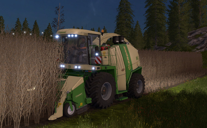 Мод жатка NEW HOLLAND 130FB CROWN V1.1.0.1 Farming Simulator 17