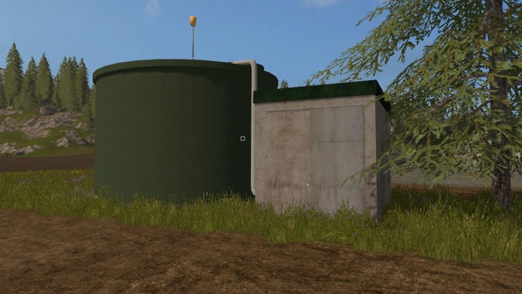 Мод резервуар WATER REFILL TANK V1.0 Farming Simulator 17