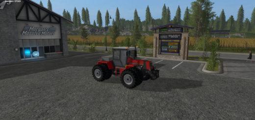 Мод трактор PROGRESS ZT323 SB V2.0 FS17