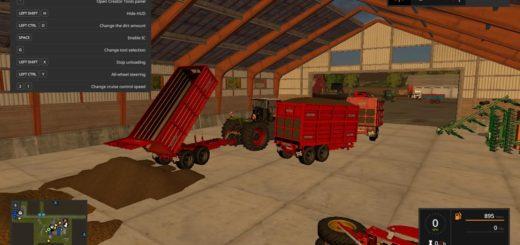 Мод ПАК прицепы REDROCK V1.0 Farming Simulator 2017