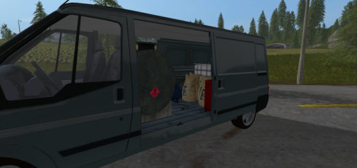 Мод фургон RUMBLER VAN SERVICE V1.0 Farming Simulator 17