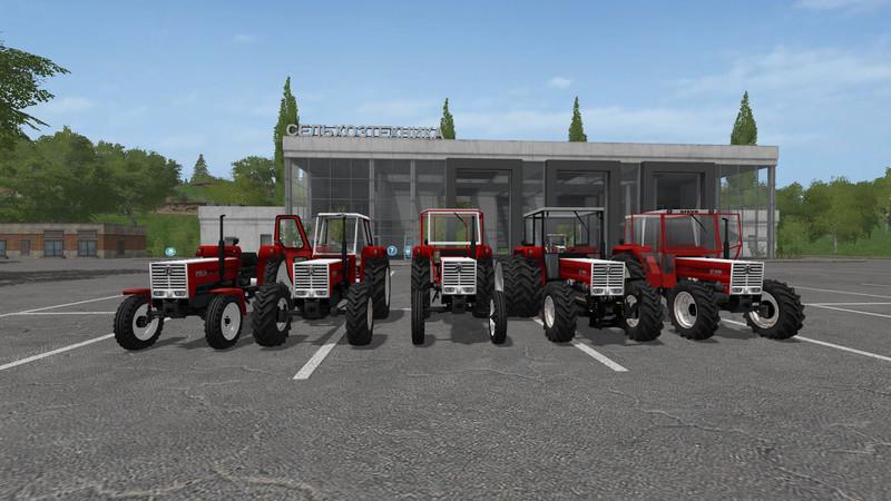 Мод трактор STEYR PLUS 768 V1.0 FS17