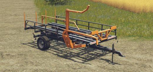 Мод прицеп WARFAMA T127 V1.1.0 Farming Simulator 2017