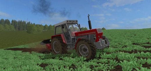 Мод трактор ZETOR 12045 V2.0 Farming Simulator 2017