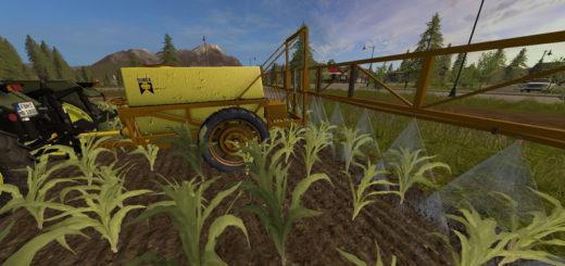 Мод Dubex sprayer v 1.1 Farming Simulator 2017