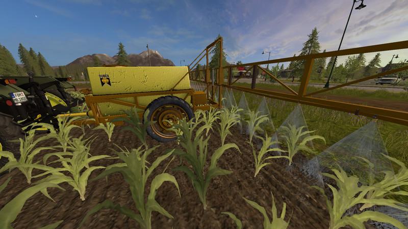 Мод Dubex sprayer v 1.1 Farming Simulator 2017