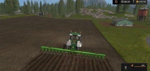 Мод плуг Large plow v 1.0.0.0 Farming Simulator 17
