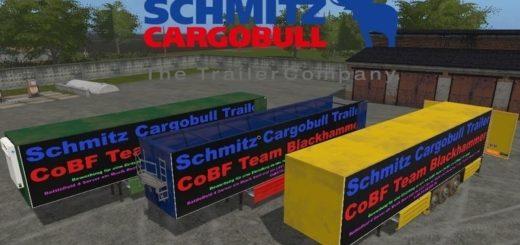 Мод прицепы Schmitz CargoBull v1.2 Farming Simulator 2017