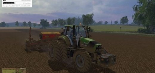 Мод трактор Deutz Fahr Agrotron 6190 TTV v 3.0 Farming Simulator 2017