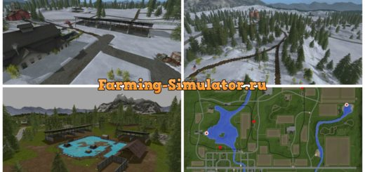 Мод карта GOLDCRESTSEASONS V1.0 Farming Simulator 17