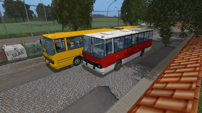 Мод автобус Икарус IKARUS 260 KURZ V1.0 Фермер Симулятор 2017