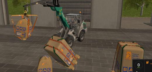 Мод ПАК мешков Farming Simulator 2017