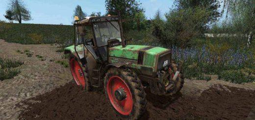 Мод трактор Deutz AgroStar 6.71/6.81 DynamicHoses 1.0.0 Farming Simulator 2017