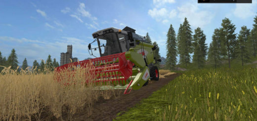 Мод комбайн Claas Avero160 v 1.2.0.0 Farming Simulator 17