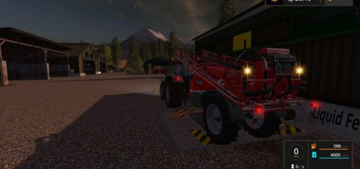 Мод опрыскиватель STILLA 460 DYEABLE SPRAYER WITH BEACONS V1.0 Farming Simulator 2017