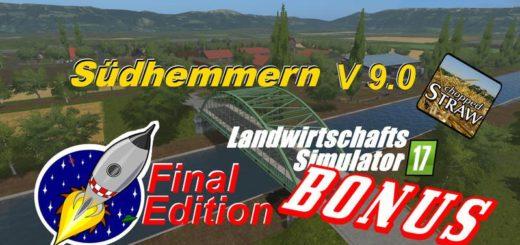Мод карта Südhemmern v 9.0 Farming Simulator 2017