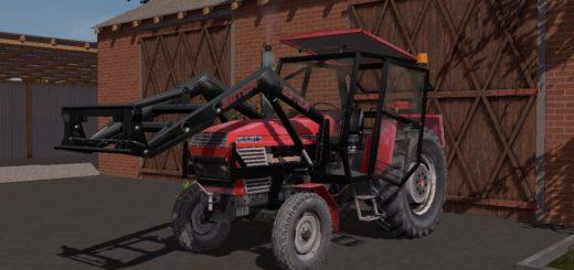 Мод трактор URSUS C385 V1.0.0 Farming Simulator 2017