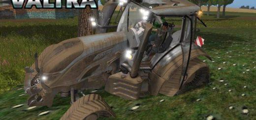 Мод трактор Valtra T FL v1.1 Farming Simulator 17