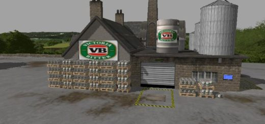 Мод BREWERY PLACEABLE V2 JDMODS Farming Simulator 2017