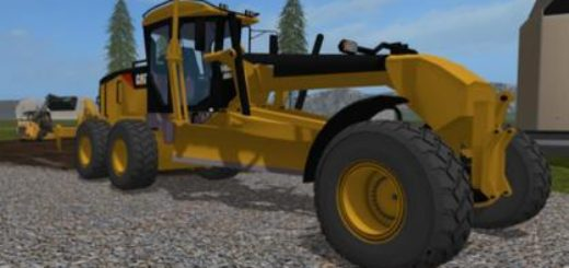 Мод трактор CATERPILLAR 140M V1.0 Farming Simulator 2017