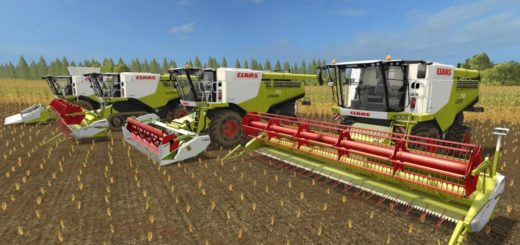 Мод ПАК комбайны Claas Lexion 700 STAGE IV Pack V 1.2 Farming Simulator 2017
