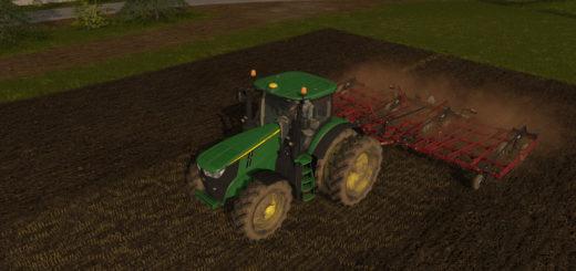 Мод культиватор CASE IH TIGERMATE 200 V1.0 Farming Simulator 17
