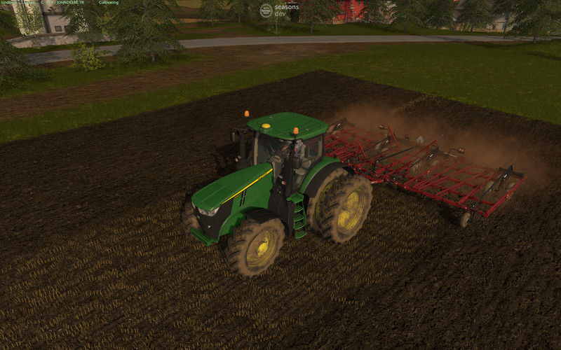 Мод культиватор CASE IH TIGERMATE 200 V1.0 Farming Simulator 17