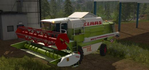 Мод комбайн CLAAS DOMINATOR 118 SL MAXI v 1.0 FS17