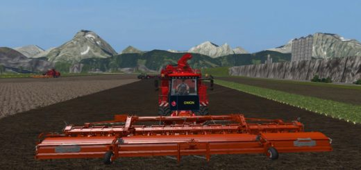 Мод комбайн HOLMER HR20 FROM VASZICS V1.1 FS17