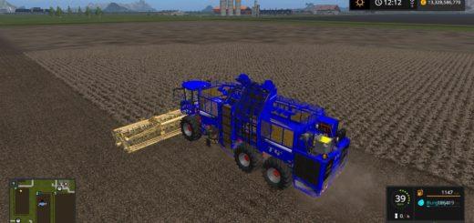 Мод комбайн HOLMER TERRA DOS T4 40 HR20 FROM VASZICS V1.1 Farming Simulator 2017